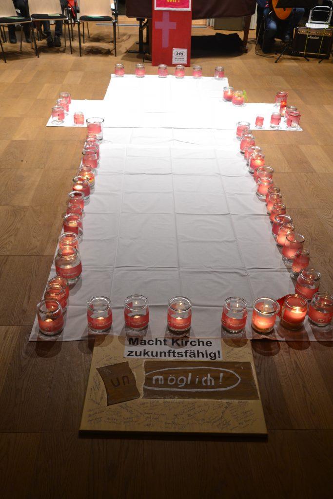 Lichtandacht 2020 Lüdinghausen