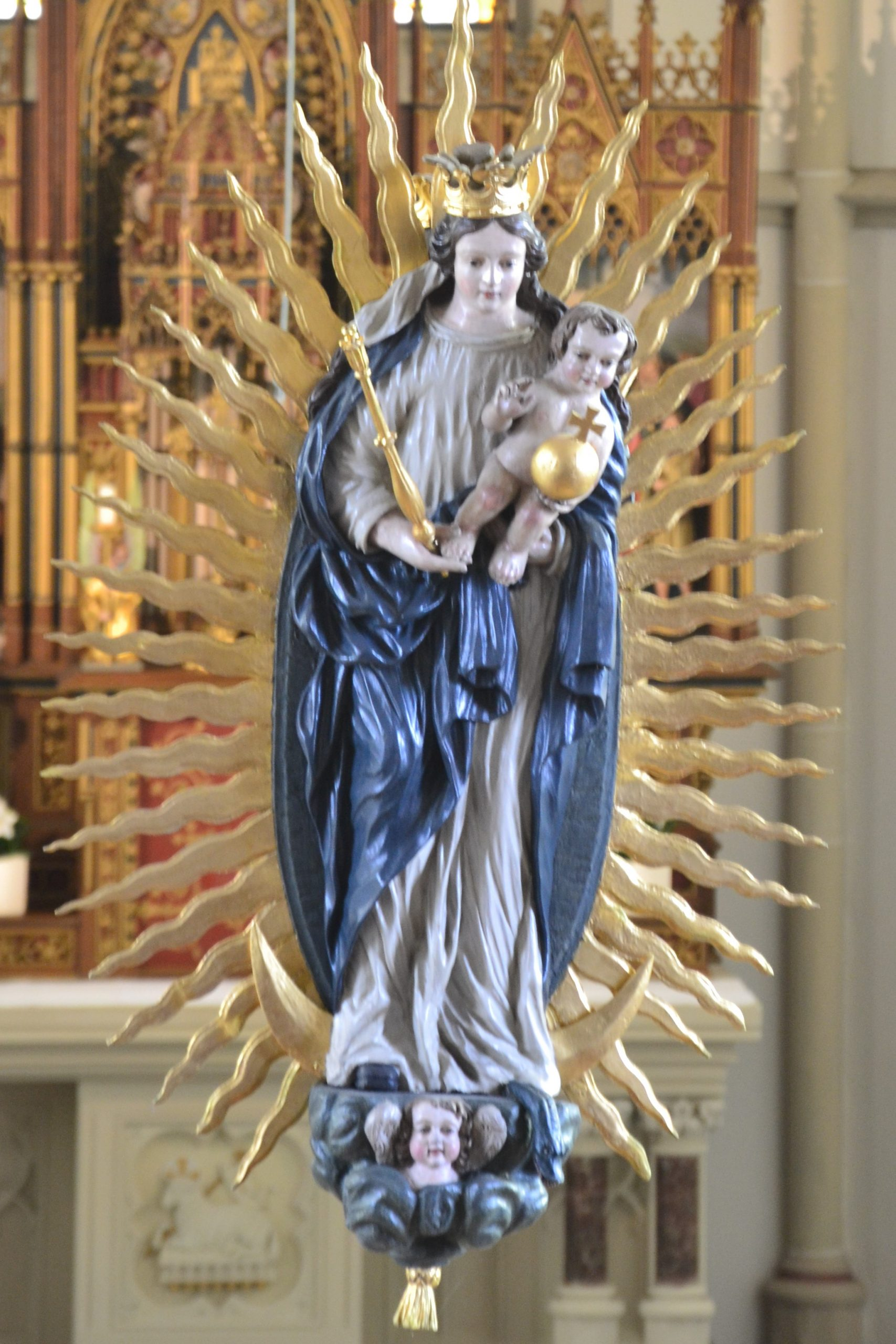 Doppelmadonna St. Dionysius